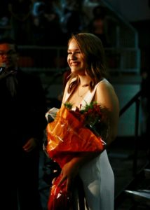 -Clare Bradshaw, the BTW Homecoming Queen is a core member of robotics and a chair in the outreach subteam.